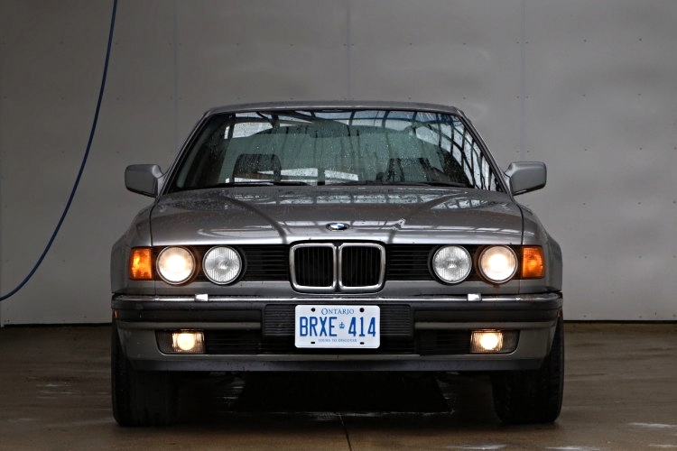 Grandpa Dick's new ride, a 88' 735i