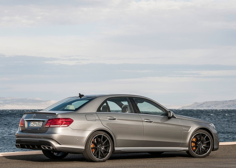 The incredibly fast and loud sedan, the E63 AMG