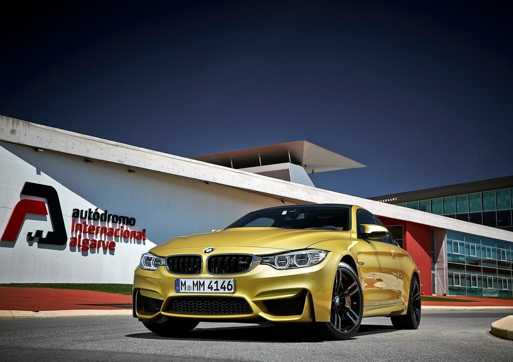 The new BMW M4, the first turbocharged model in BMW's M3/M4 history