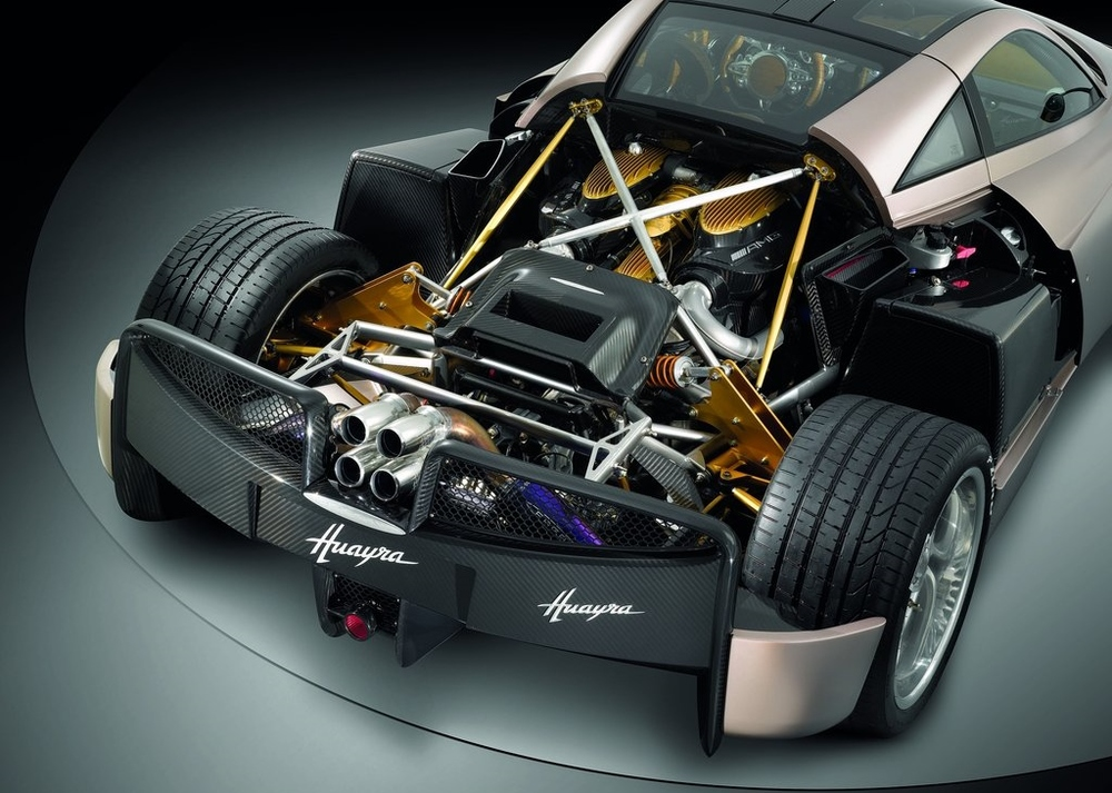 An in-depth look at the 6 liter V12 powering the Pagani Huayra