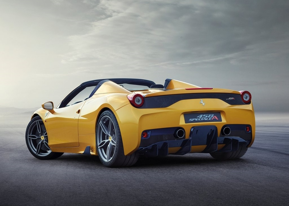 Possibly the last ever mid-engined V8 Ferrari, the 458 Speciale A