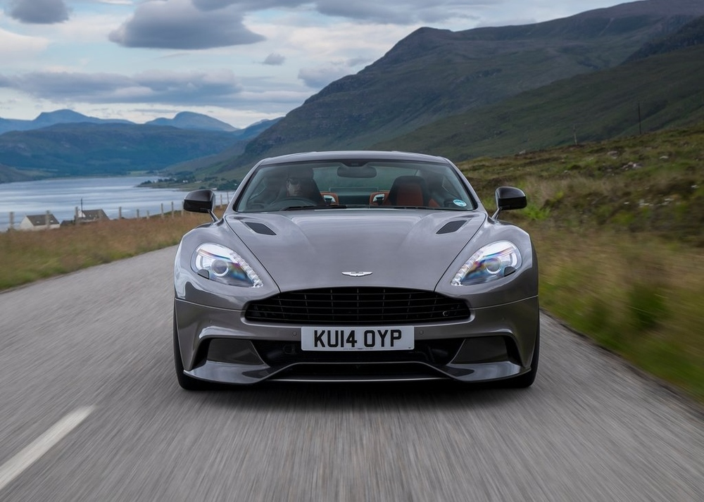 Aston Martin's incredible, naturally-aspirated Vanquish