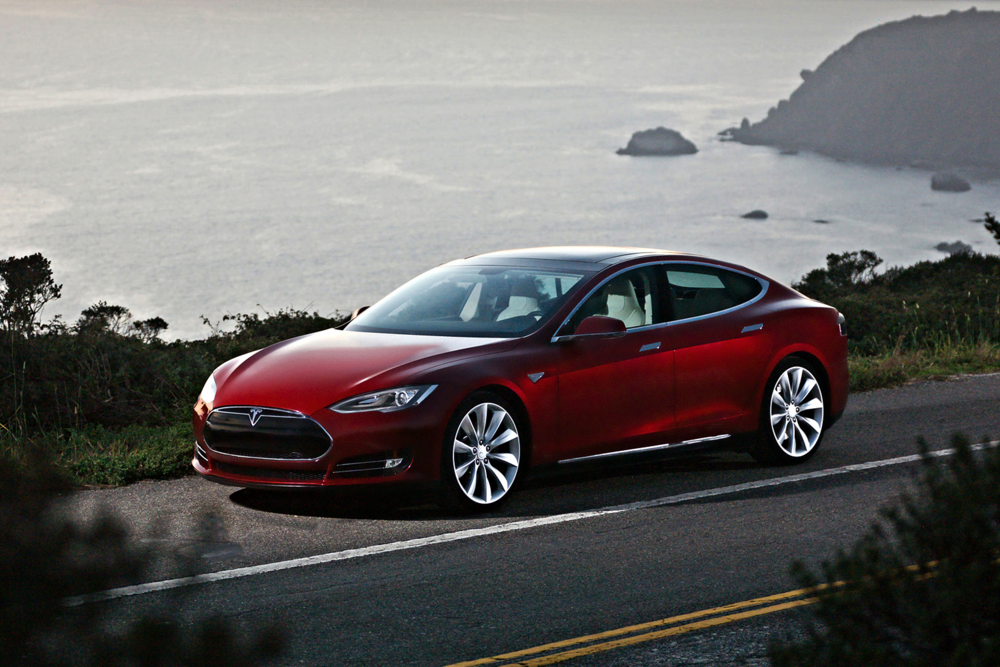 The Model S in all it's glory.