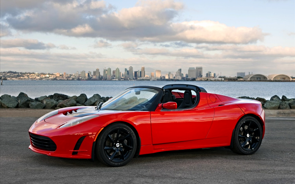 Basically, the Tesla Roadster proved that electric cars could be actually cars...and not whatever the hell the Prius is.