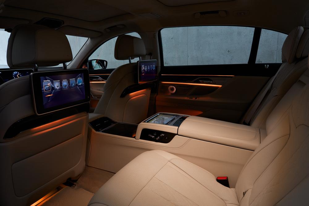 Executive Rear Seating