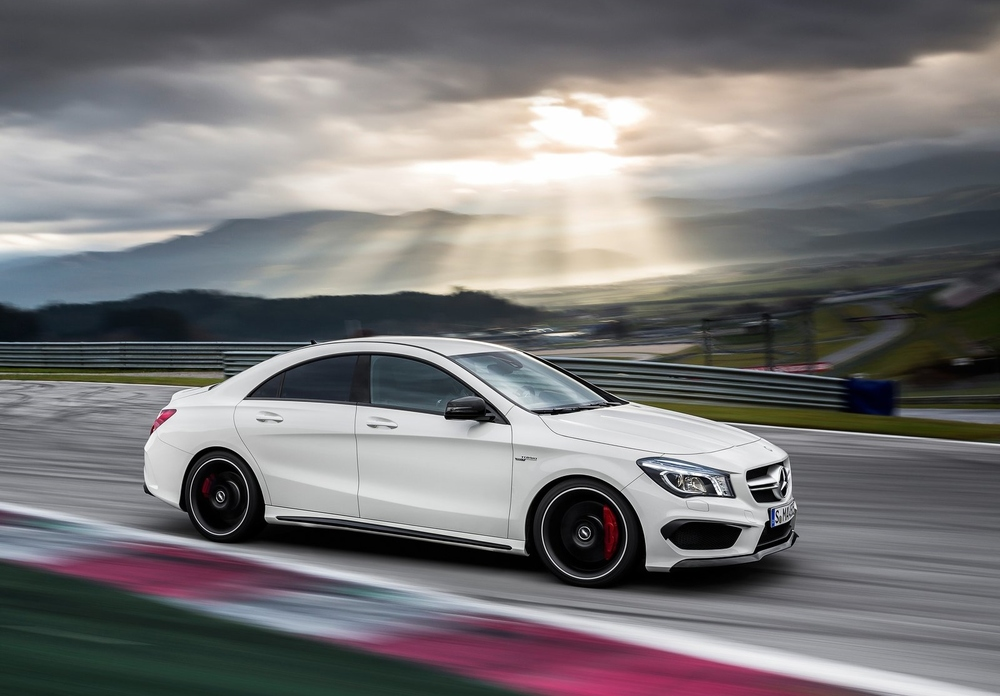 The CLA45 AMG: sleek, stylish, and ready to conquer your favorite road