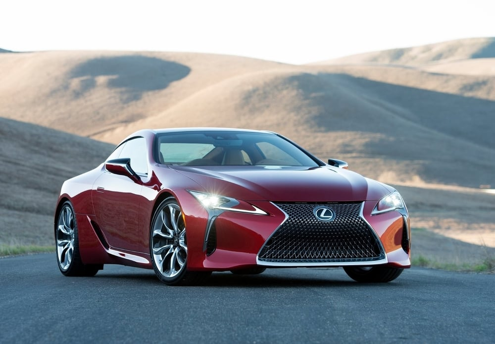 The new LC 500
