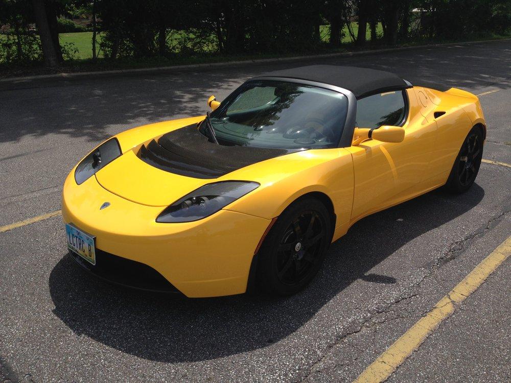 The Tesla Roadster Sport