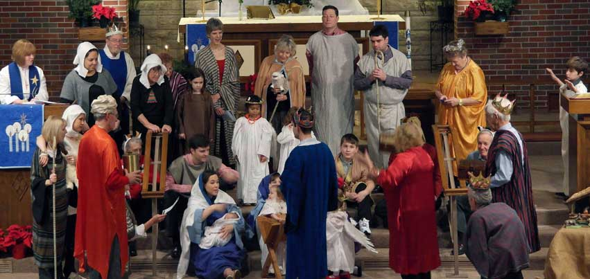 Our Old Fashioned Christmas Pageant in 2014