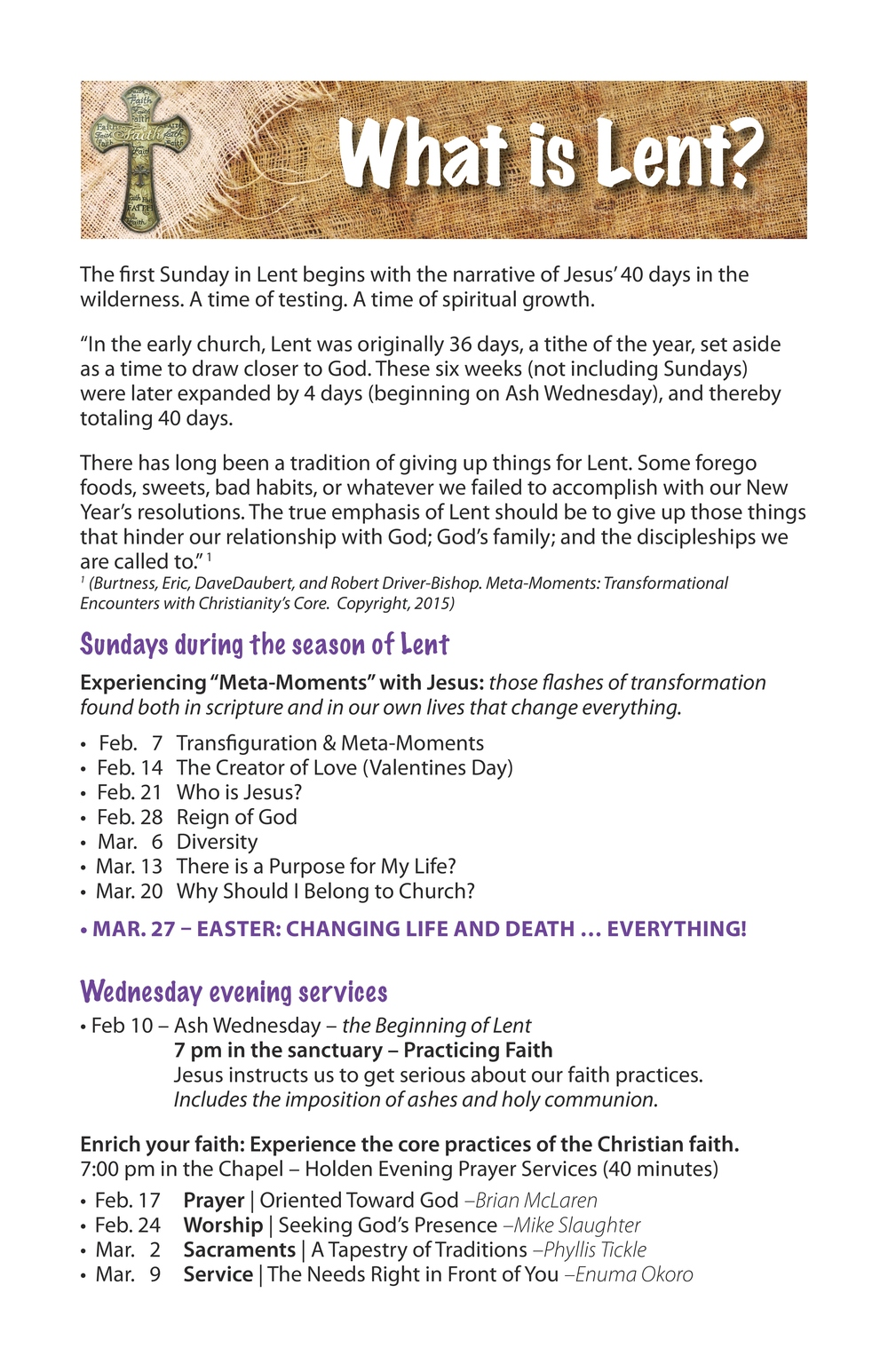 series — News — Lutheran Church of the Resurrection
