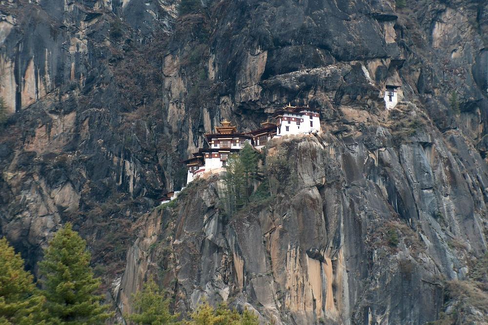 Taktsang Monastery (Tiger's Nest) — Taktsang Trail, Paro, Bhutan