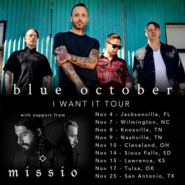 Blue October Acoustic Tour