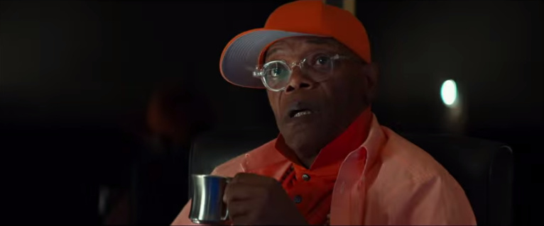 Always nice when Sam Jackson actually acts instead of just playing himself.