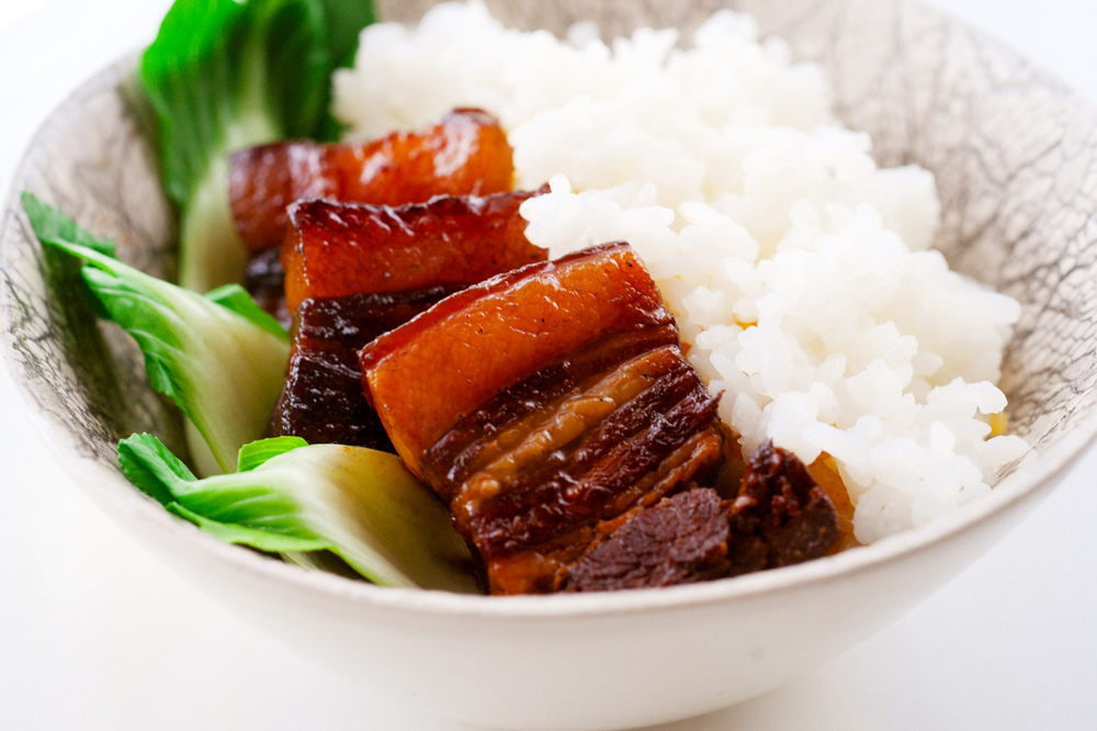 Braised Pork Over Rice
