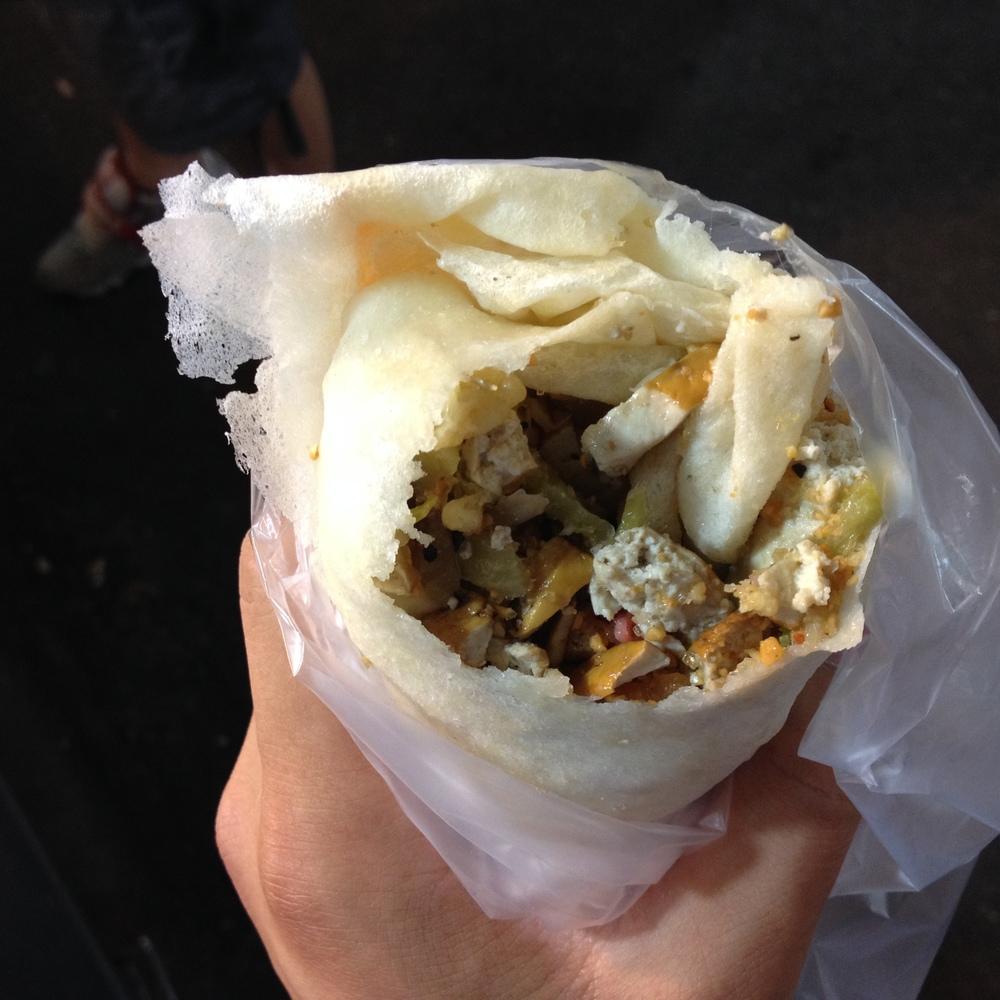 Taiwanese Burrito