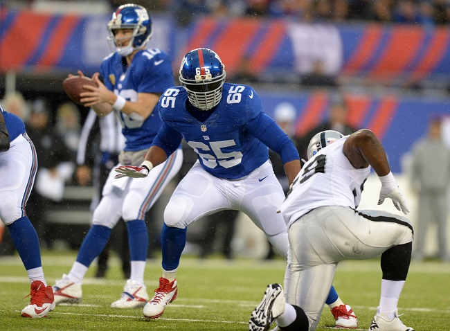 An unfortunate injury to LT Will Beatty complicates things on the Giants' O-Line.