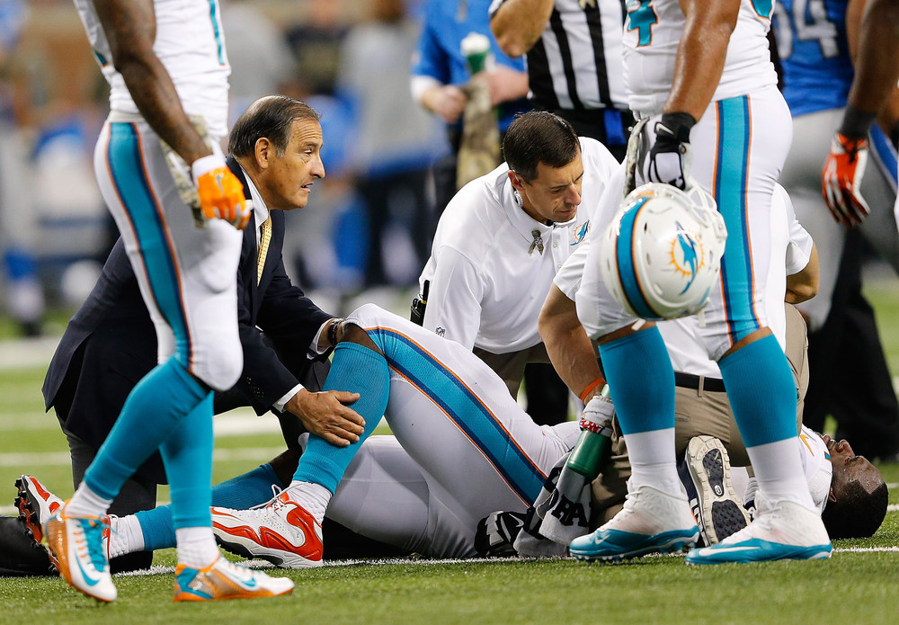 Losing LT Branden Albert in week 7 resulted in a disastrous O-Line shuffle for the Dolphins.