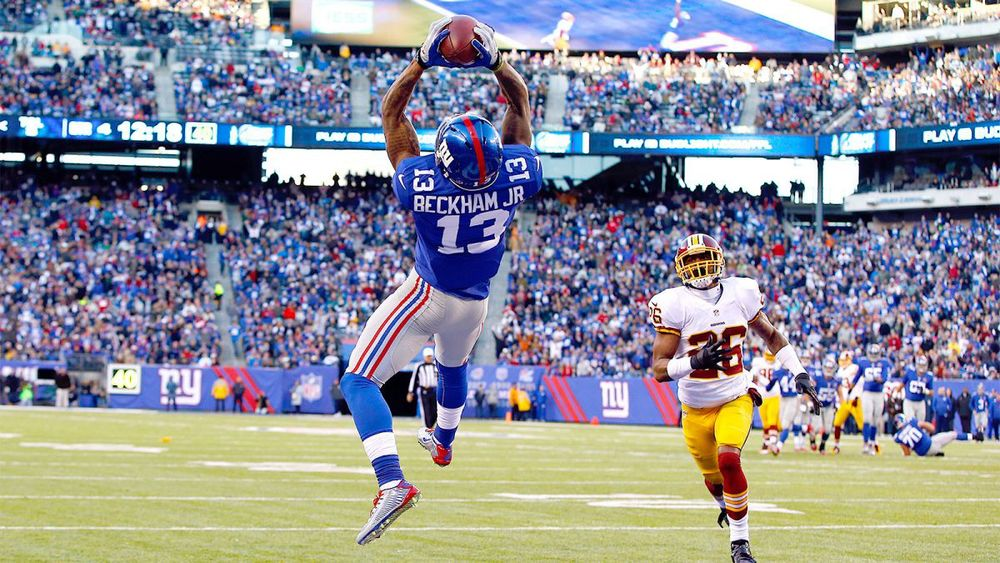 In 2014, Odell Beckham Jr.'s 1,305 receiving yards and 12 TDs in 12 games was, statistically, the best rookie season for a wide receiver since Randy Moss' in 1998.