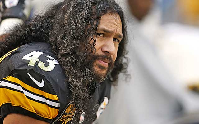 The end of an era as the iconic Troy Polamalu retires after 12 years with the Steelers.