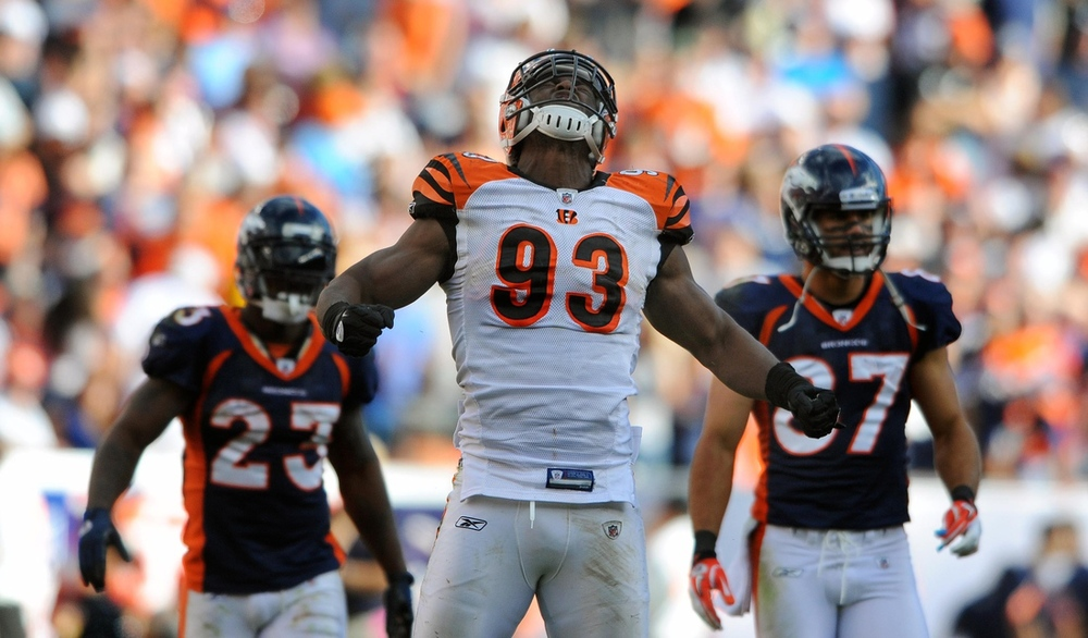 After just one season in Tampa, the Bengals get DE Michael Johnson back at a discount.