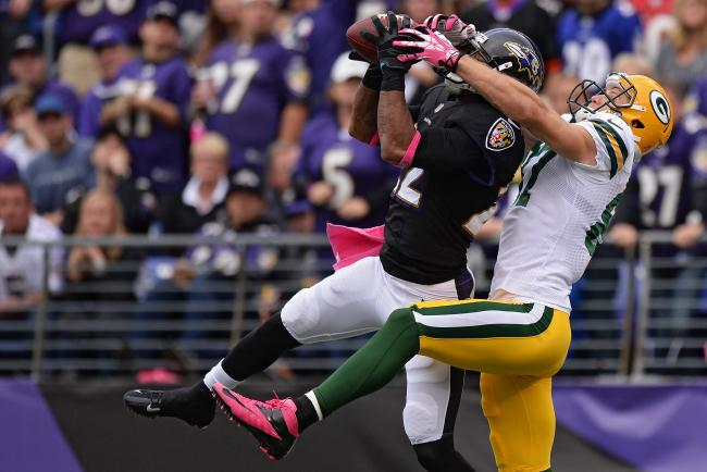 CB Jimmy Smith is one the best cornerbacks in the NFL. His return from injury will do wonders for the secondary.