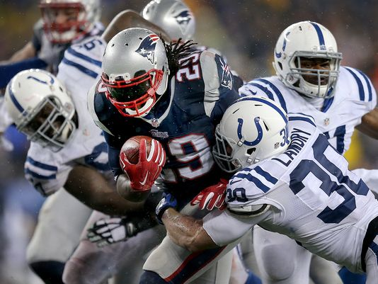 Deflated footballs aside, the Indianapolis Colts' inability to stop the run was exposed in the AFC championship game.