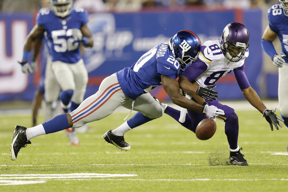 The biggest change for the Giants defense in 2015 is getting back its top corner, Amukamara.