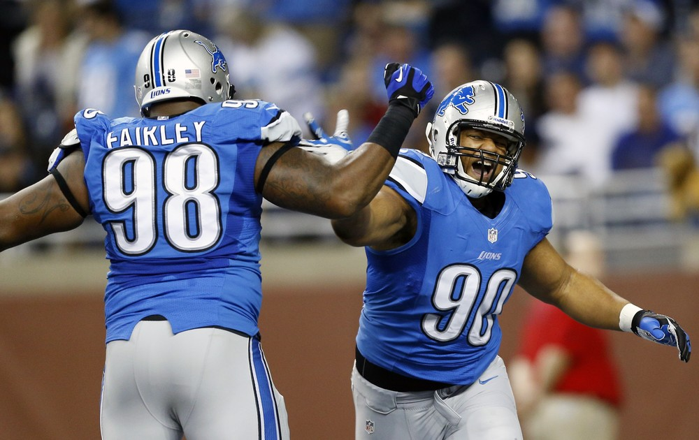 Losing Suh and Fairley is a big deal but the Lions have found adequate replacements in Ngata and Walker.