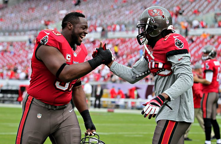 DT Gerald McCoy and OLB Lavonte David were both first team All-Pros in 2013 but even they couldn't overcome the lack of talent around them.