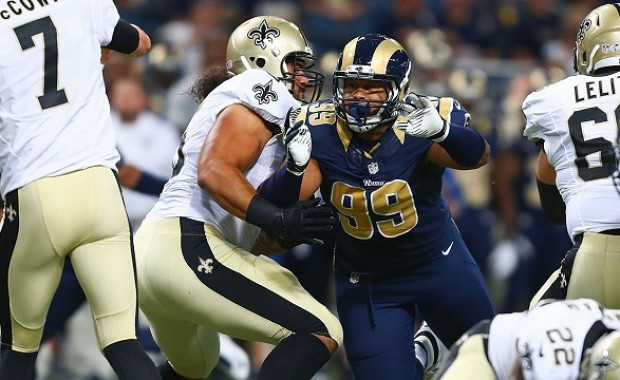 DT Aaron Donald earned the 2014 NFL Defensive Rookie of the Year award. In 2015, he has a legitimate shot for defensive player of the year.