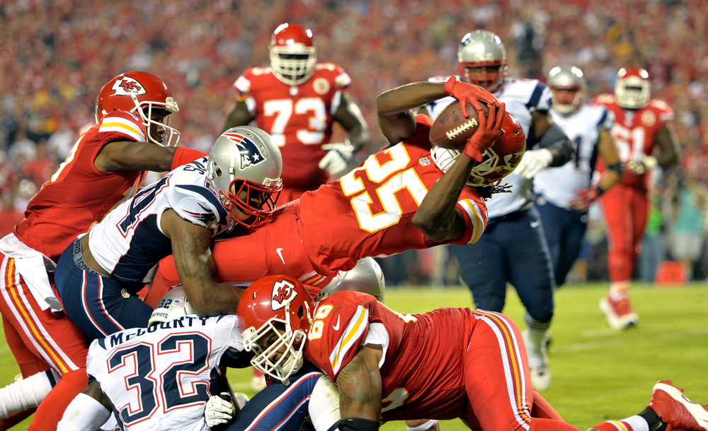 Despite having the toughest rushing schedulein 2014, Charles still finished 7th in fantasy among running backs.