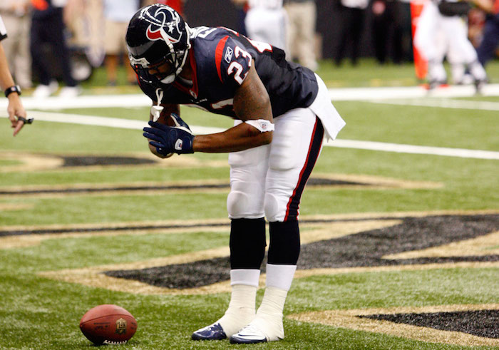 Once again, Arian Foster has the benefit of a schedule full of soft defenses.