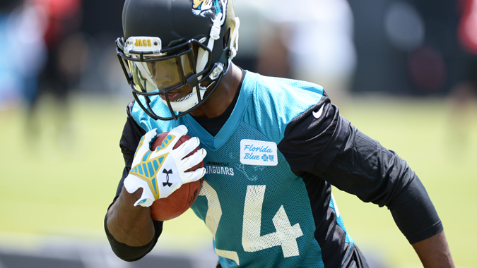 T.J. Yeldon has less upside than the other rookie running backs this season.