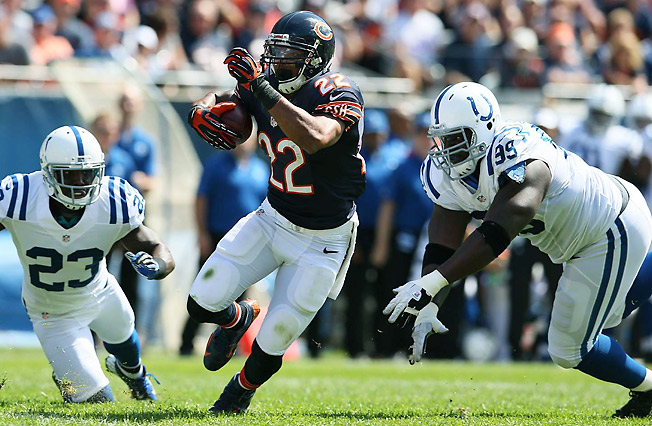 Last season, Matt Forte broke the record for most receptions by a running back with 102.