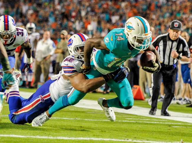 With just 758 yards on 84 receptions, Landry ranked dead last in average depth of target in 2014.