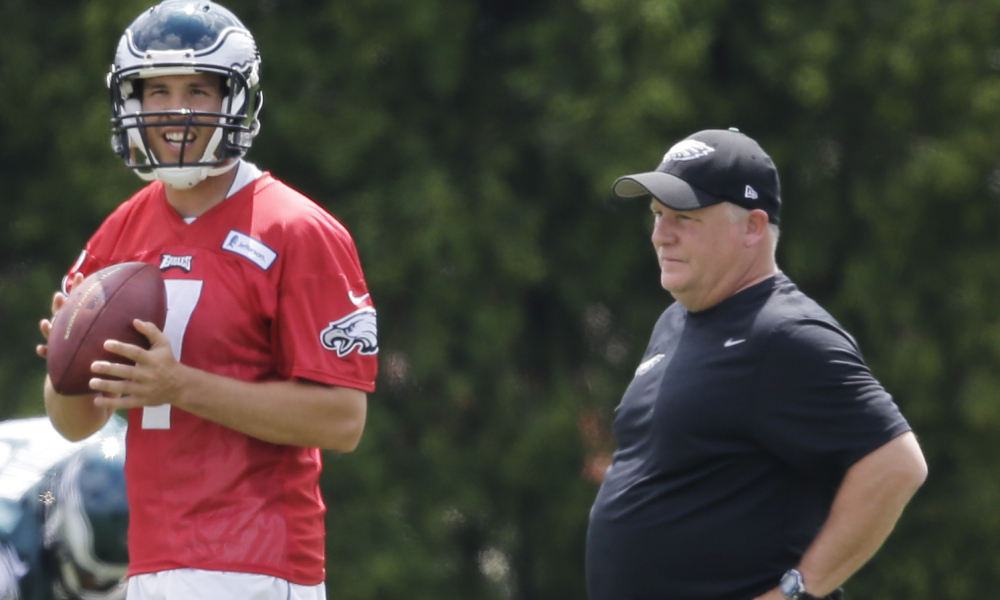 Eagles QBs have been very valuable in fantasy under Chip Kelly's system and Bradford seems like a great fit.