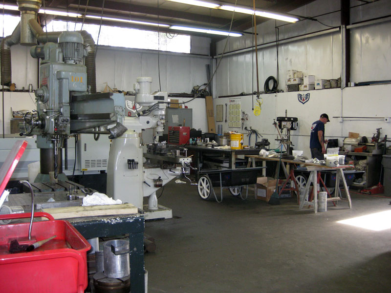 a machine shop