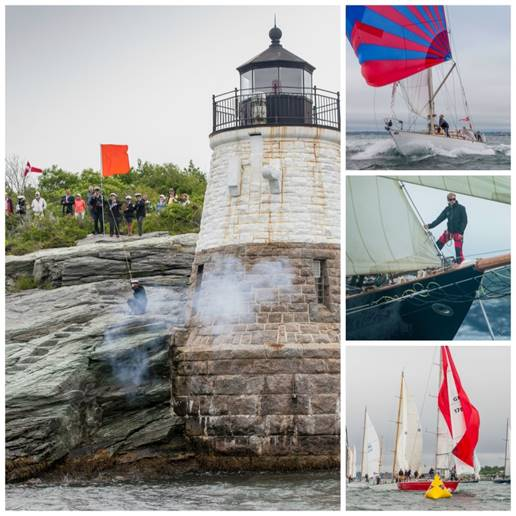 Start 1 of the Transatlantic Race 2015 (photo credits Daniel Forster