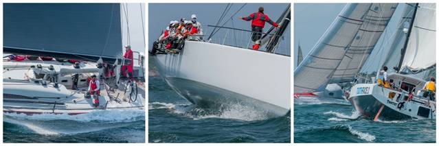 Start 2 of the Transatlantic Race 2015 (photo credits Daniel Forster)