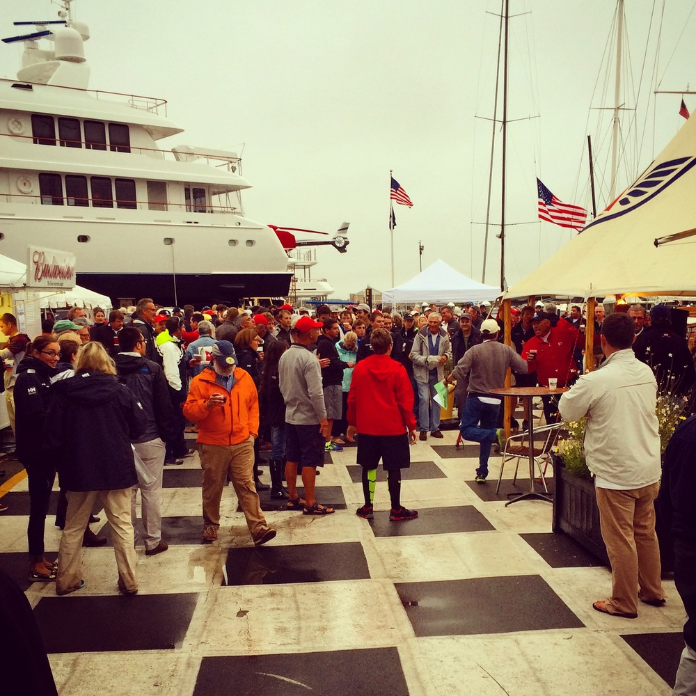 Newport Shipyard is a proud sponsor of Sail for Hope and host of the annual regatta party held after racing.