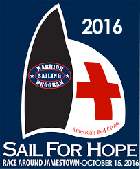 """The charities for the 2016 Sail For Hope are the Warrior Sailing Program, RI Red Cross Armed Services Families, and Edward Oliver Sanchez III """"Tad"""" Youth Sailing Fund"""