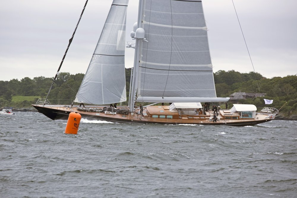 ACTION  is the Class A Winner of the 2017 Candy Store Cup Superyacht Regatta. Photo:  Billy Black