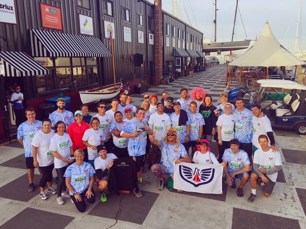 Congrats to Newport Shipyard's 2017 Pell Bridge Run team, who took first place as this year's fastest team!