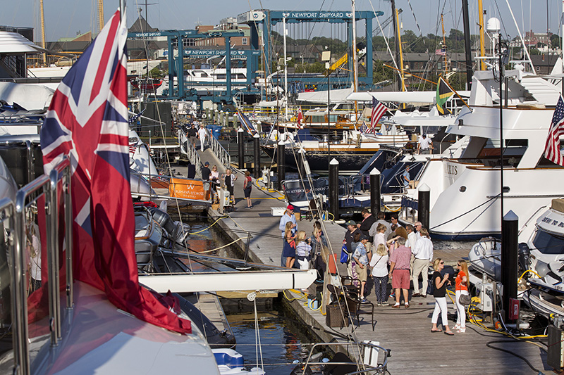 Yachts who register before March 15, 2018 receive 20% off dockage and registration fees. Register here:  www.newportchartershow.com/yacht-registration/  (photo © Billy Black)