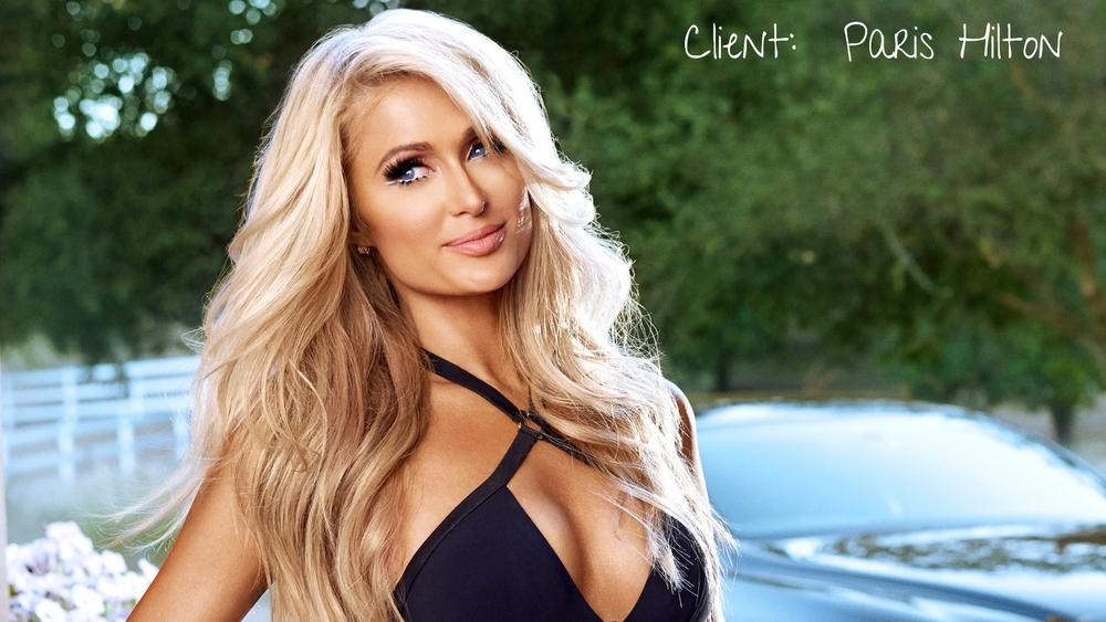 Paris Hilton Spray Tan Miami