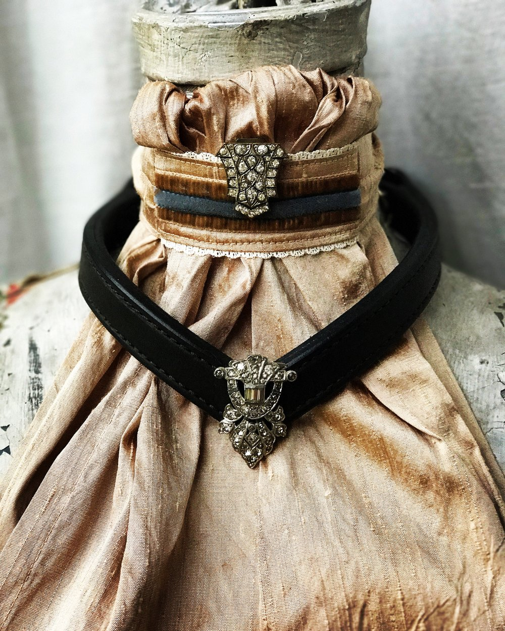 $65 tie, $50 pin, $150 browband