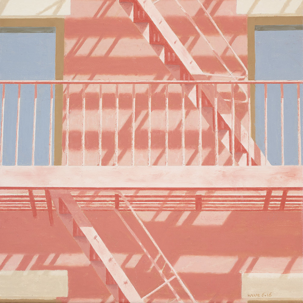Fire Escape *- Private collection
