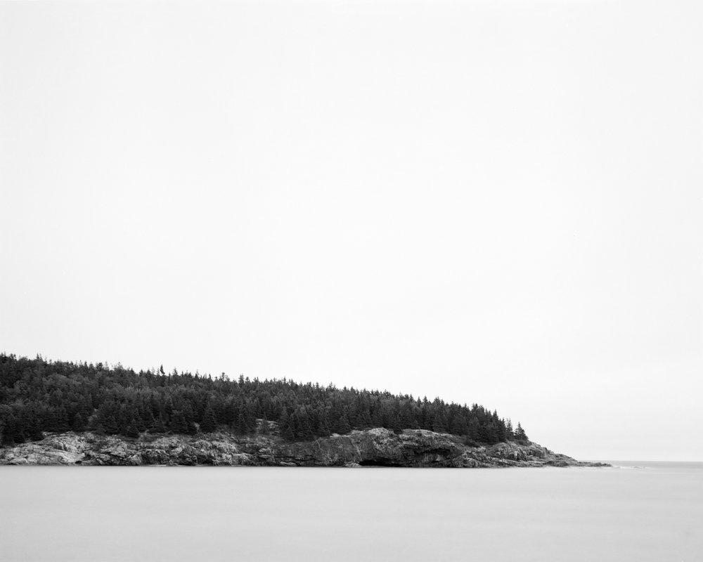 Coastal cross-section.