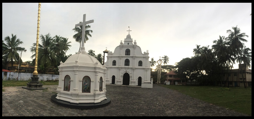 One of the many cathedrals in the area.