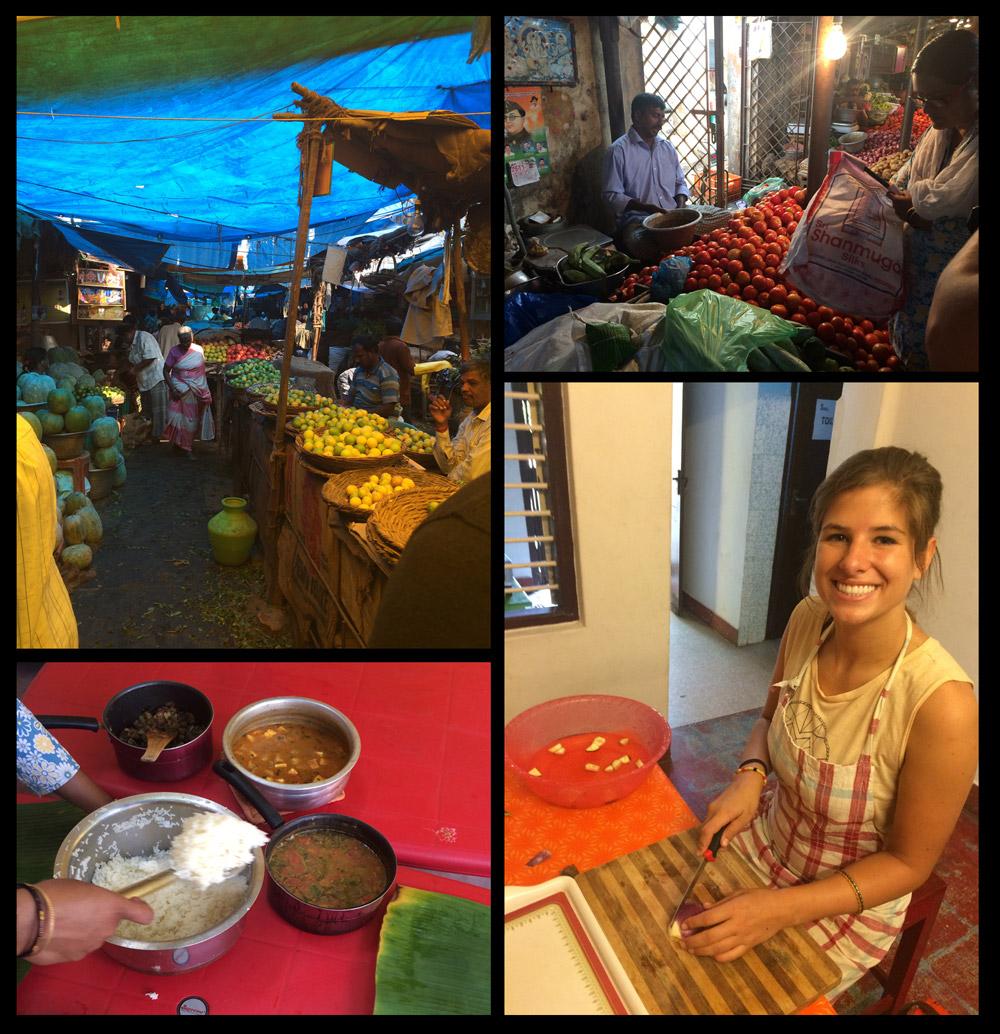 Pondi market & cooking class!